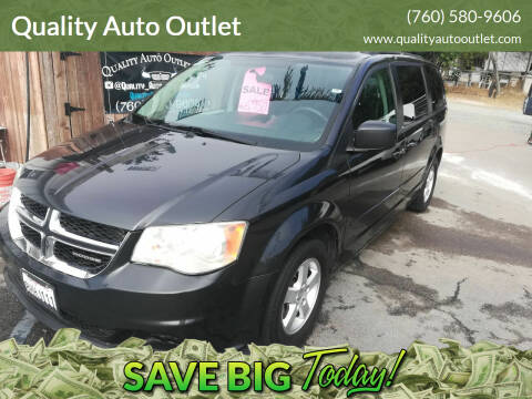 2011 Dodge Grand Caravan for sale at Quality Auto Outlet in Vista CA
