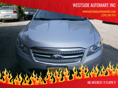 2011 Ford Taurus for sale at WESTSIDE AUTOMART INC in Cleveland OH