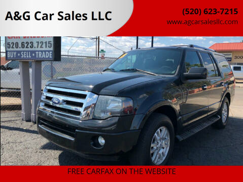 2013 Ford Expedition for sale at A&G Car Sales  LLC in Tucson AZ
