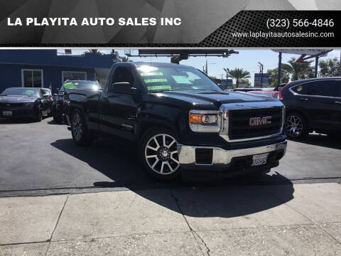 2014 GMC Sierra 1500 for sale at LA PLAYITA AUTO SALES INC in South Gate CA