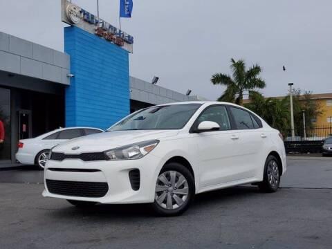 2019 Kia Rio for sale at Tech Auto Sales in Hialeah FL