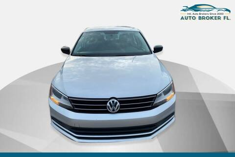 2016 Volkswagen Jetta for sale at INTERNATIONAL AUTO BROKERS INC in Hollywood FL