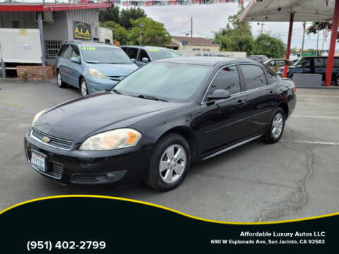 2011 Chevrolet Impala for sale at Affordable Luxury Autos LLC in San Jacinto CA