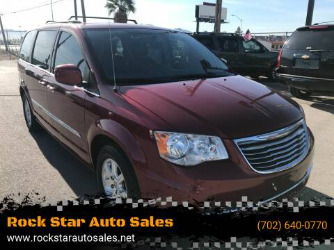 2012 Chrysler Town and Country for sale at Rock Star Auto Sales in Las Vegas NV