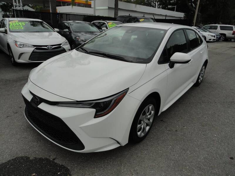 2020 Toyota Corolla for sale at DeWitt Motor Sales in Sarasota FL