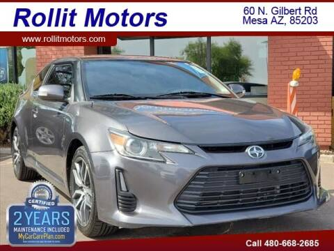 2015 Scion tC for sale at Rollit Motors in Mesa AZ