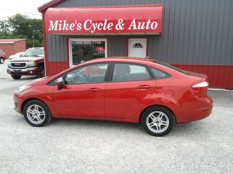 2019 Ford Fiesta for sale at MIKE'S CYCLE & AUTO in Connersville IN