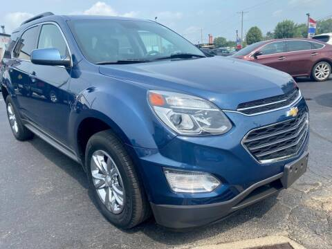 2017 Chevrolet Equinox for sale at Used Car Factory Sales & Service Troy in Troy OH