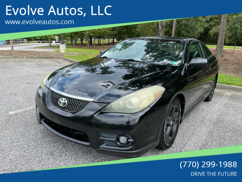 2007 Toyota Camry Solara for sale at Evolve Autos, LLC in Lawrenceville GA