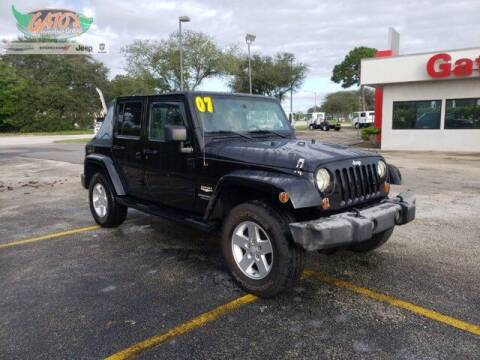 2007 Jeep Wrangler Unlimited for sale at GATOR'S IMPORT SUPERSTORE in Melbourne FL