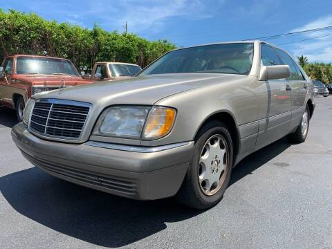 1995 Mercedes-Benz S-Class for sale at American Classics Autotrader LLC in Pompano Beach FL