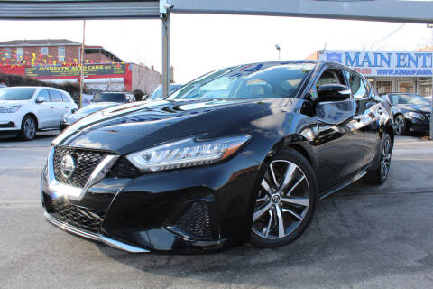 2020 Nissan Maxima for sale at MIKEY AUTO INC in Hollis NY