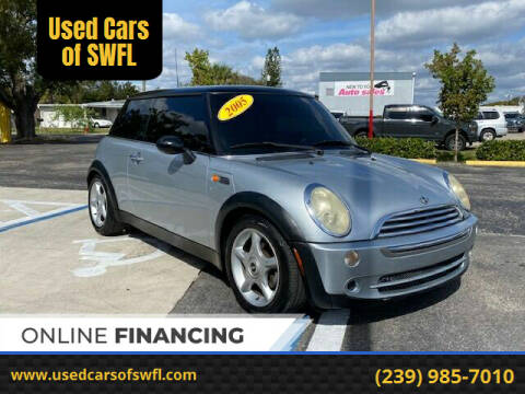 2005 MINI Cooper for sale at Used Cars of SWFL in Fort Myers FL