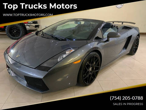 2008 Lamborghini Gallardo for sale at Top Trucks Motors in Pompano Beach FL