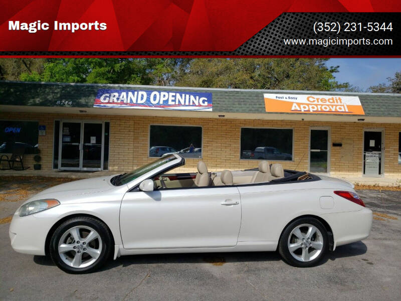 2004 Toyota Camry Solara for sale at Magic Imports in Melrose FL