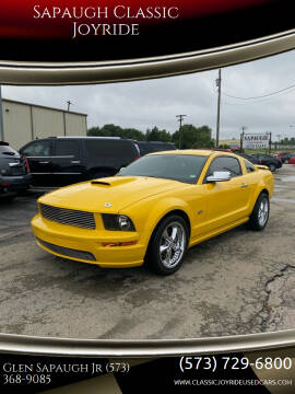 2006 Ford Mustang for sale at Sapaugh Classic Joyride in Salem MO