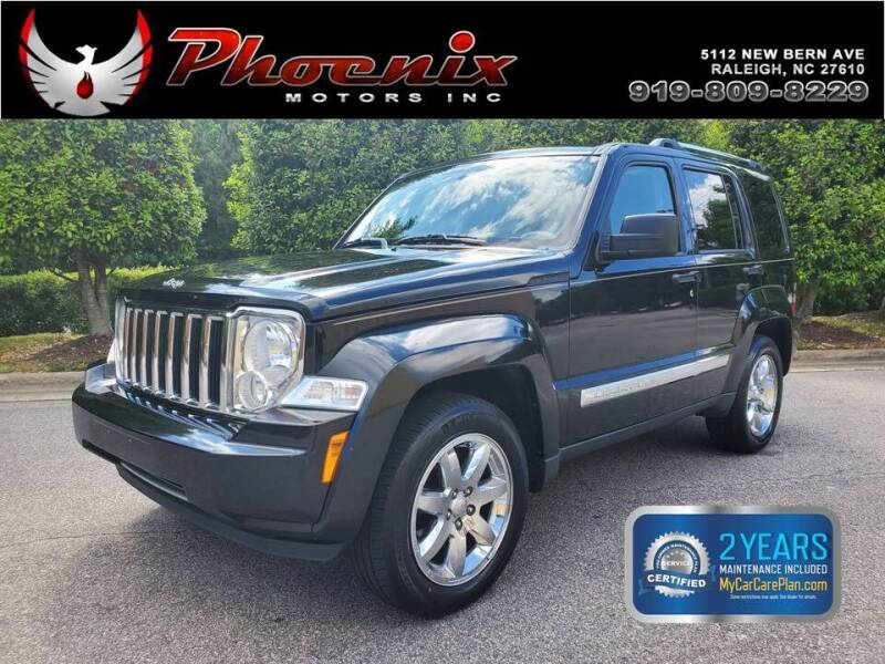 2008 Jeep Liberty for sale at Phoenix Motors Inc in Raleigh NC