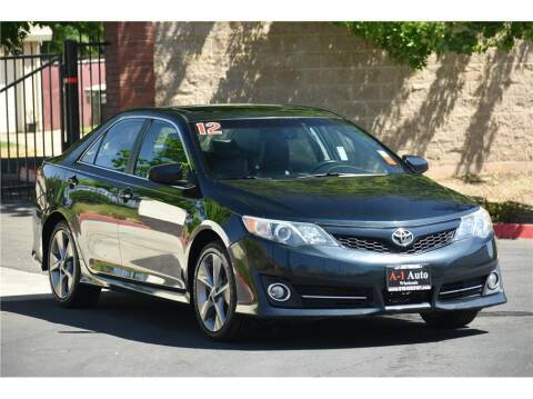 2012 Toyota Camry for sale at A-1 Auto Wholesale in Sacramento CA