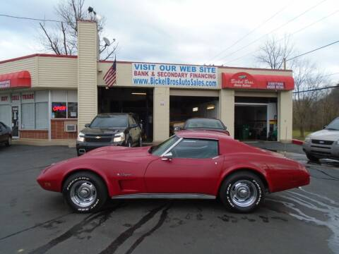 1974 Chevrolet Corvette for sale at Bickel Bros Auto Sales, Inc in Louisville KY