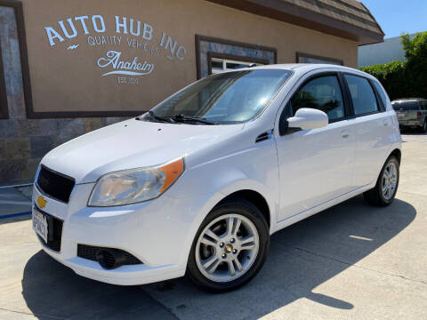2010 Chevrolet Aveo for sale at Auto Hub, Inc. in Anaheim CA