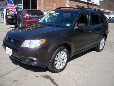 2013 Subaru Forester for sale at Charlies Auto Village in Pelham NH