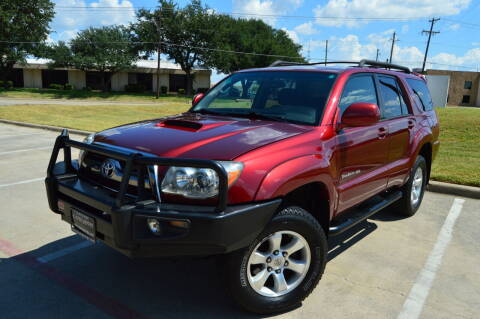 2006 Toyota 4Runner for sale at E-Auto Groups in Dallas TX