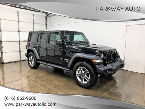 2018 Jeep Wrangler Unlimited for sale at PARKWAY AUTO in Hudsonville MI