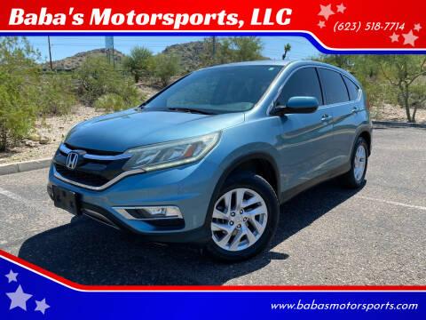 2016 Honda CR-V for sale at Baba's Motorsports, LLC in Phoenix AZ