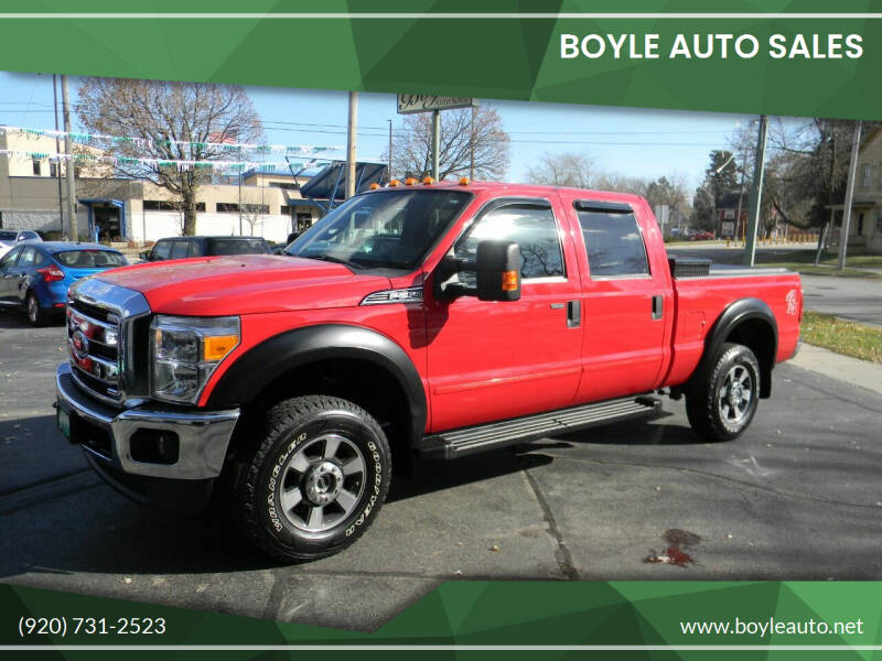 2014 Ford F-250 Super Duty for sale at Boyle Auto Sales in Appleton WI