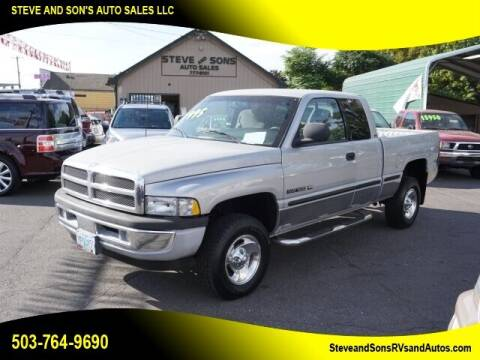 1998 Dodge Ram Pickup 1500 for sale at Steve & Sons Auto Sales in Happy Valley OR