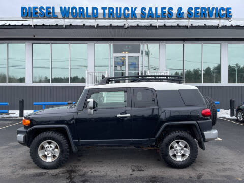 2008 Toyota FJ Cruiser for sale at Diesel World Truck Sales in Plaistow NH