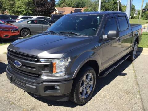 2019 Ford F-150 for sale at One Price Auto in Mount Clemens MI