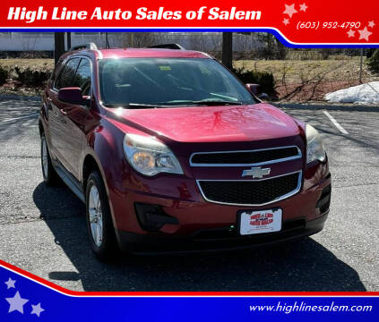 2010 Chevrolet Equinox for sale at High Line Auto Sales of Salem in Salem NH