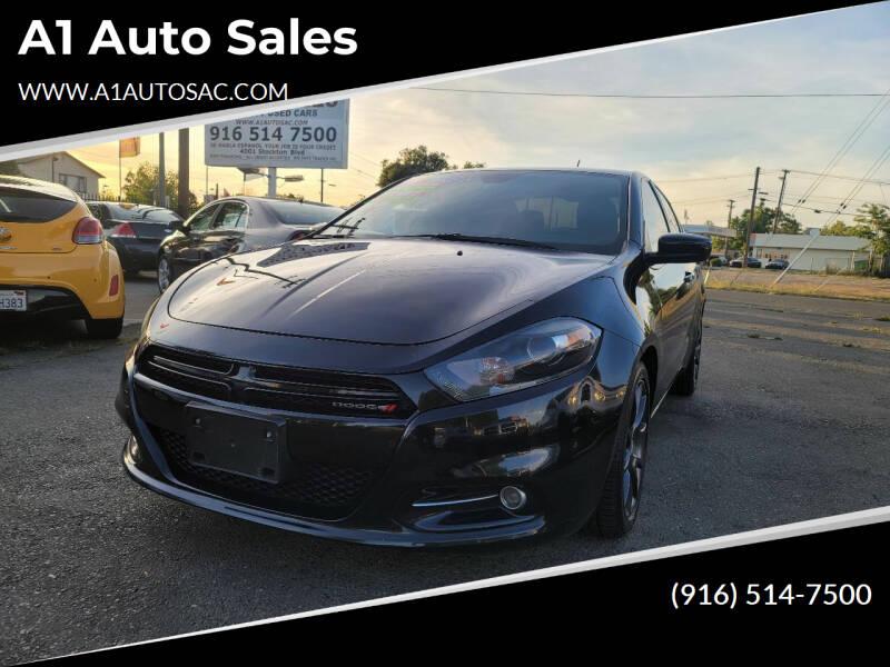 2016 Dodge Dart for sale at A1 Auto Sales in Sacramento CA