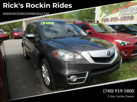 2010 Acura RDX for sale at Rick's Rockin Rides in Reynoldsburg OH