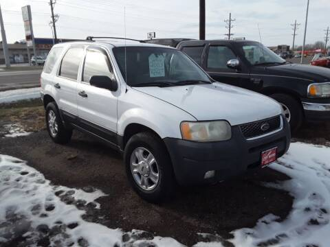 2003 Ford Escape for sale at BARNES AUTO SALES in Mandan ND