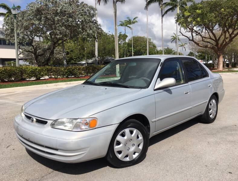 2000 Toyota Corolla for sale at FIRST FLORIDA MOTOR SPORTS in Pompano Beach FL