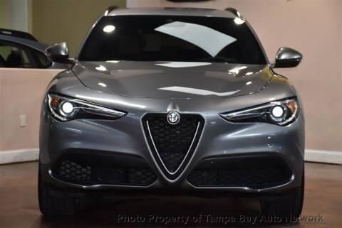 2018 Alfa Romeo Stelvio for sale at Tampa Bay AutoNetwork in Tampa FL