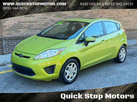 2013 Ford Fiesta for sale at Quick Stop Motors in Kansas City MO