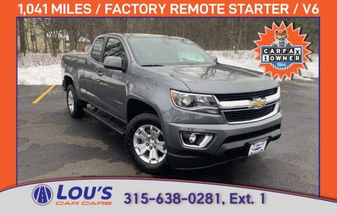 2020 Chevrolet Colorado for sale at LOU'S CAR CARE CENTER in Baldwinsville NY