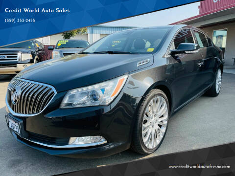 2014 Buick LaCrosse for sale at Credit World Auto Sales in Fresno CA