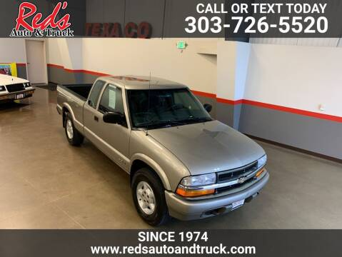 2001 Chevrolet S-10 for sale at Red's Auto and Truck in Longmont CO