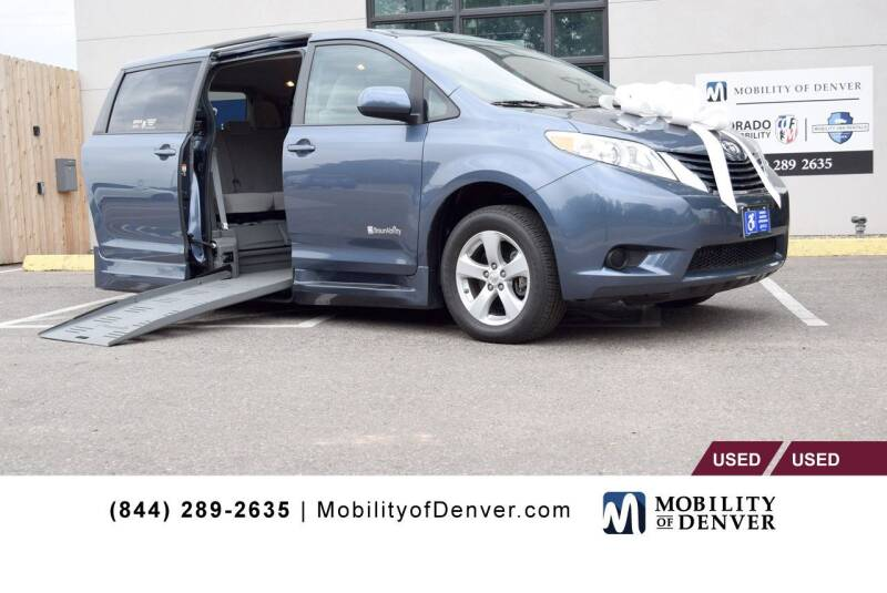 2016 Toyota Sienna for sale at CO Fleet & Mobility in Denver CO