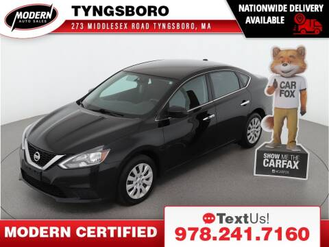 2017 Nissan Sentra for sale at Modern Auto Sales in Tyngsboro MA