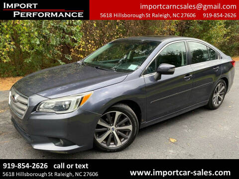 2015 Subaru Legacy for sale at Import Performance Sales in Raleigh NC