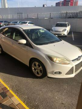 2013 Ford Focus for sale at CORTES MOTORS in Las Vegas NV
