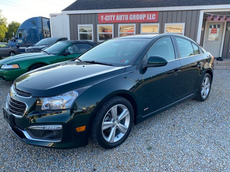 2015 Chevrolet Cruze for sale at Y City Auto Group in Zanesville OH