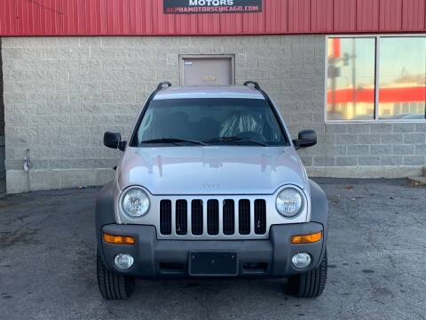 2004 Jeep Liberty for sale at Alpha Motors in Chicago IL