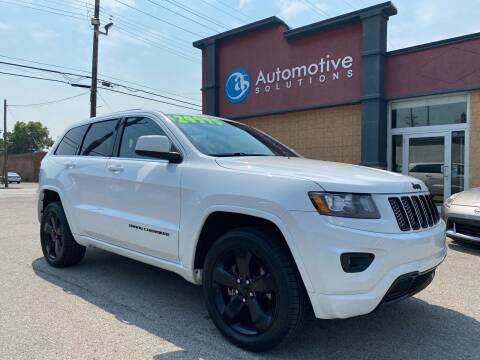 2015 Jeep Grand Cherokee for sale at Automotive Solutions in Louisville KY