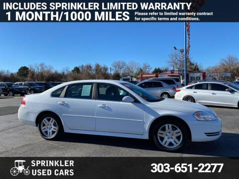 2016 Chevrolet Impala Limited for sale at Sprinkler Used Cars in Longmont CO